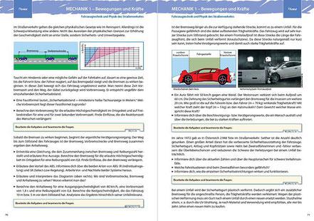 THEMA: Fahrzeugtechnik und Physik des Straßenverkehrs