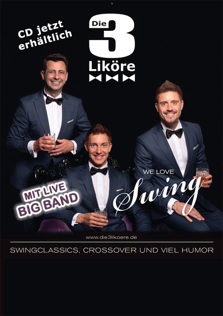 Konzert - WE LOVE SWING - Mit live Big Band