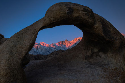 Road Trip - Sunrise The Arch and Mount Whitney (2015-02)