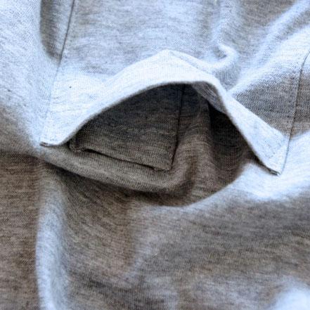 胸ポケットには更にインポケットが付く。