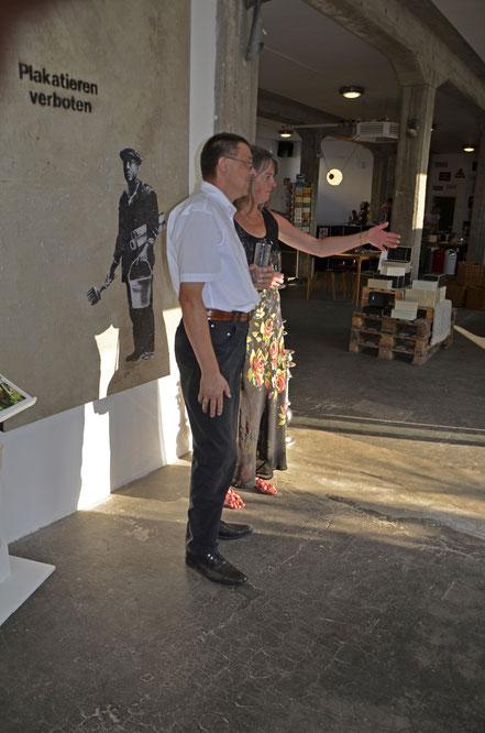 Divo Santino Vernissage Koblenz 2017