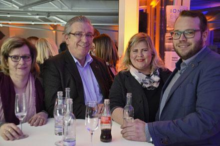 Christel Schneider, Erich Schneider, Colett Westfeld-Schneider, Daniel Schneider