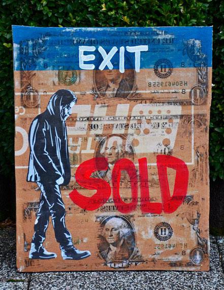 "(c) Divo Santino 2017 ""EXIT"""