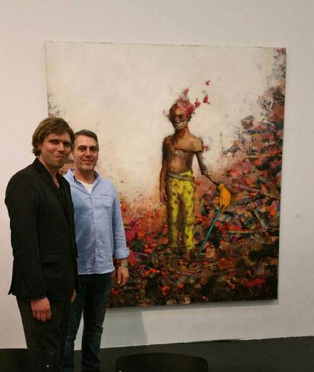 Jonas Burgert mit Divo Santino 2015