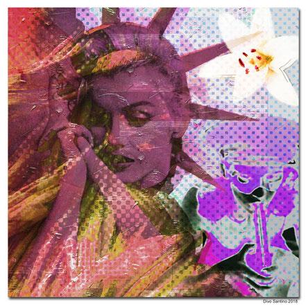 #liberty #marylin #flower #lilie #girls #divosantino #2018