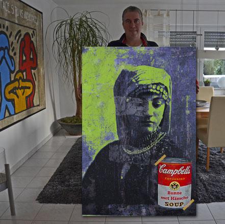 "(c) Divo Santino 2017 ""Bunne met Hämche"""