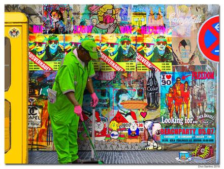 #strassen #painting #collage #plakatwand #telefonzelle #colonia #köln #cgn #streetart #2018 #street #veedel #colonia