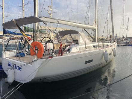 Delivery X4.9 Oostende Belgium to Tenerife.
