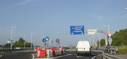 Straße nach Nuoro