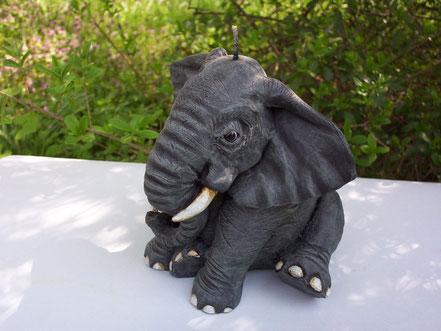 Kerze,Figurenkerze,Skulpturenkerzen,Hippo,Nilpferd