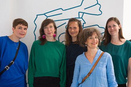 Karen Obenauf, Andrea Köster, Tine Schulz, Antje Hubold, Konstanze Zelck, PoppyField Wanderer MV, Illustratorinnen