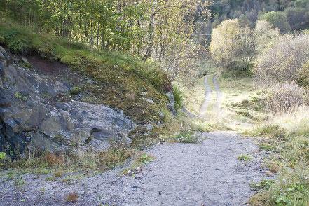 Ridning på tur på Grasdal