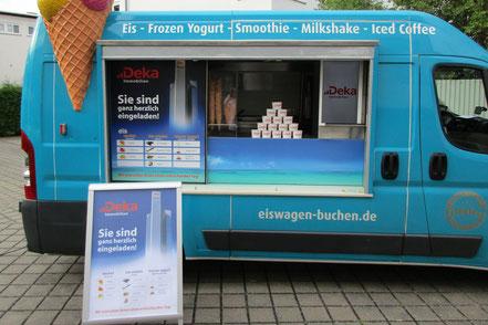 Eiswagen Deluxe mieten und buchen in Frankfurt und Umgebung