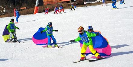 Skikurs in Terenten