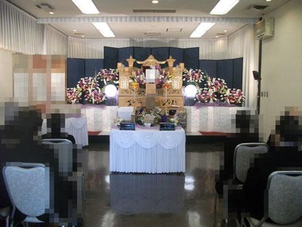 戸田別館の祭壇
