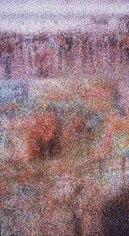 Window, 340x170cm, oil on canvas 2007