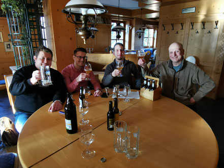 Meeting with Craftbee at Hohmaans Brauhaus
