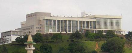 Le Palais des congrès de Yaoundé