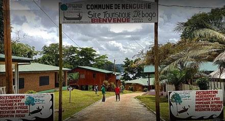 Site touristique d'Ebogo dans la commune de Mengueme