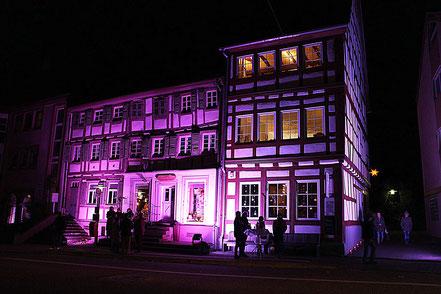 Alte Apotheke bei Otterberg leuchtet 2016