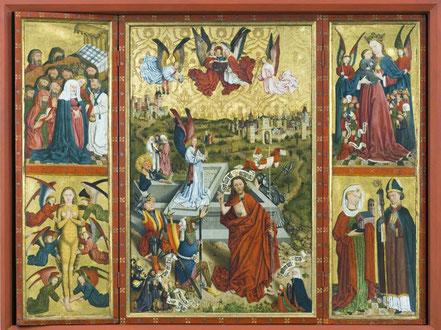 Altar geöffnet