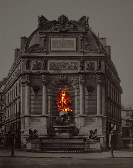 nach einem Photo von Achille Quinet um 1870