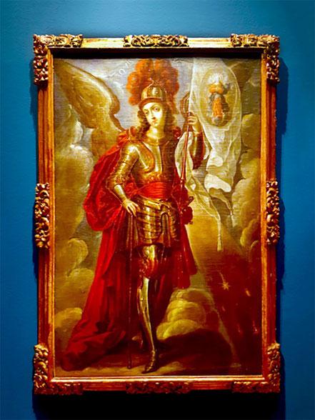 Photo: David Gemeinhardt (korrigiert) — Ausstellung »Cristóbal de Villalpando – Pintor mexicano del barroco«, Mexiko-Stadt, Palacio de Iturbide, März bis Juni 2017