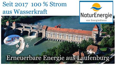 Regenerative Energie aus Wasserkraft