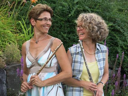 Pia Hutzli und Susanne Barben