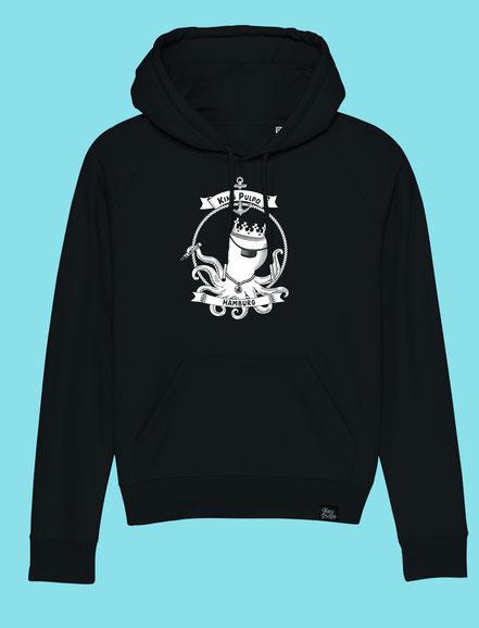 King Pulpo of Hamburg - Women's hooded Sweatshirt