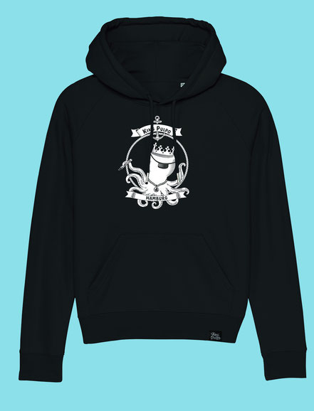 King Pulpo of Hamburg - Women's hooded Sweatshirt