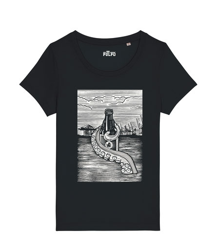 Pulpo Harbour - Womens T-Shirt
