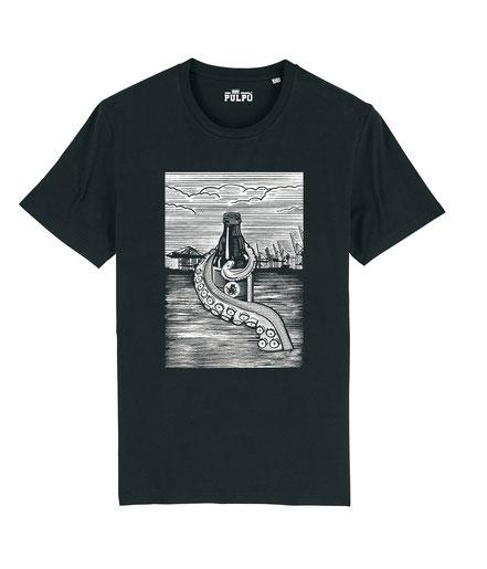 Pulpo Harbour -Mens T-shirt