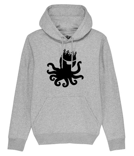 Pulpo Silhouette -Mens Hoody