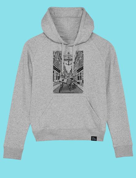 Beck Strasse - Women's hooded Sweatshirt