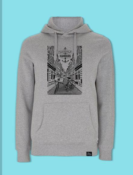 Beck Strasse - Men's/Unisex hooded Sweatshirt