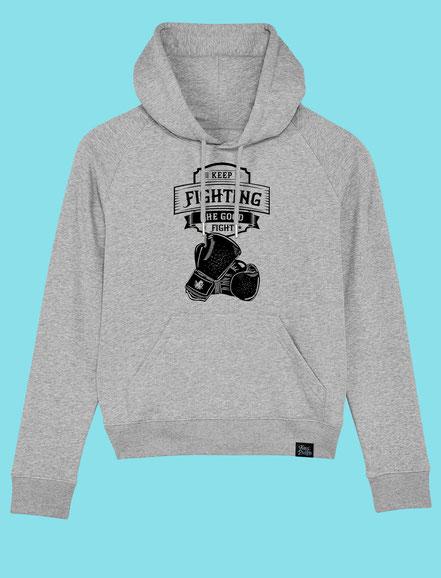 Keep Fighting - Women's hooded Sweatshirt