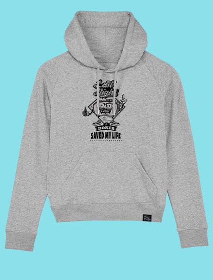 Last Night a Döner Saved my Life - Women's hooded Sweatshirt