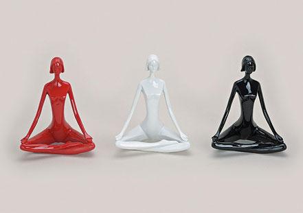 Yoga Frau Dekofugur