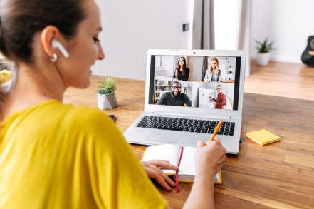 Termine Marketing Zoom mit Dagmar Heib Online Marketing Managerin und Gesundheitsredakteurin Werbung für Heilpraktiker