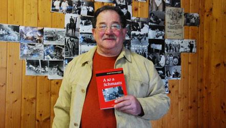 Heribert Blab ist ein großer Freund der Mundart –in seinem neuen Buch beschäftigt er sich mit dem Rötzerischen.