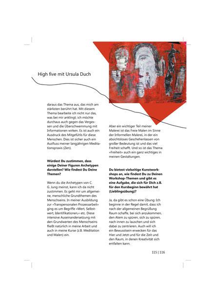 Katalog 2. Festival für unangepasste Kunst; Selbstverlag LMU München; Seite 115/116