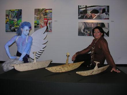 Exhibicion de Cecilia Vargas Muñoz en la Galeria Cometa en Bogota