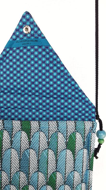 pochette housse tablette plumes de paon, vlslc, val lao sur la colline, vallaosurlacolline