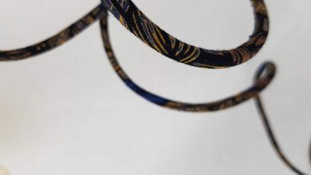 baladeuse tube textile et douille silicone en couleur, turquoise rouge orangé vlslc, val lao sur la colline, vallaosurlacolline