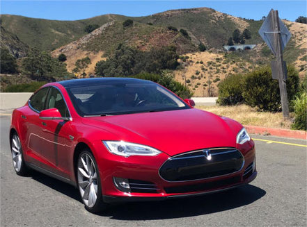 TravelControl Tesla S