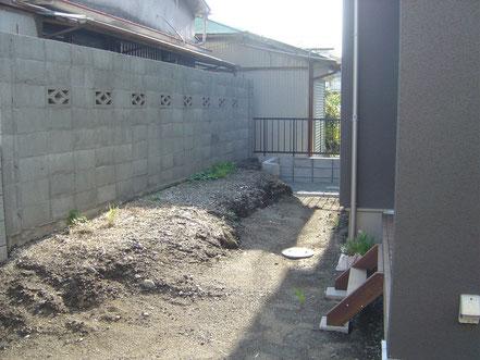 庭 小田原市 H様邸 施工前2