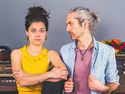 """Das Duo """"Berge"""" (c) Asmara Cimignolo"""