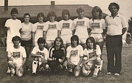 Mädchen A - Mannschaft 1984 | Saarland-Vize-Pokalsieger.