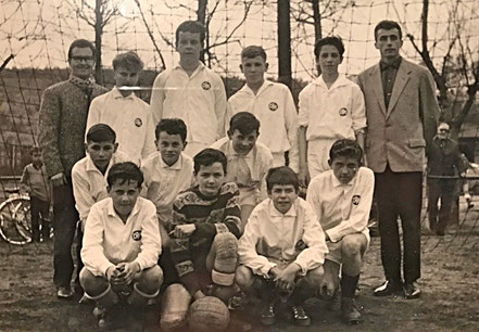 Die C-Jugend 1963/64 | Ost- und Nordsaar Kreismeister | Frühe Erfolge der Jugendabteilung.